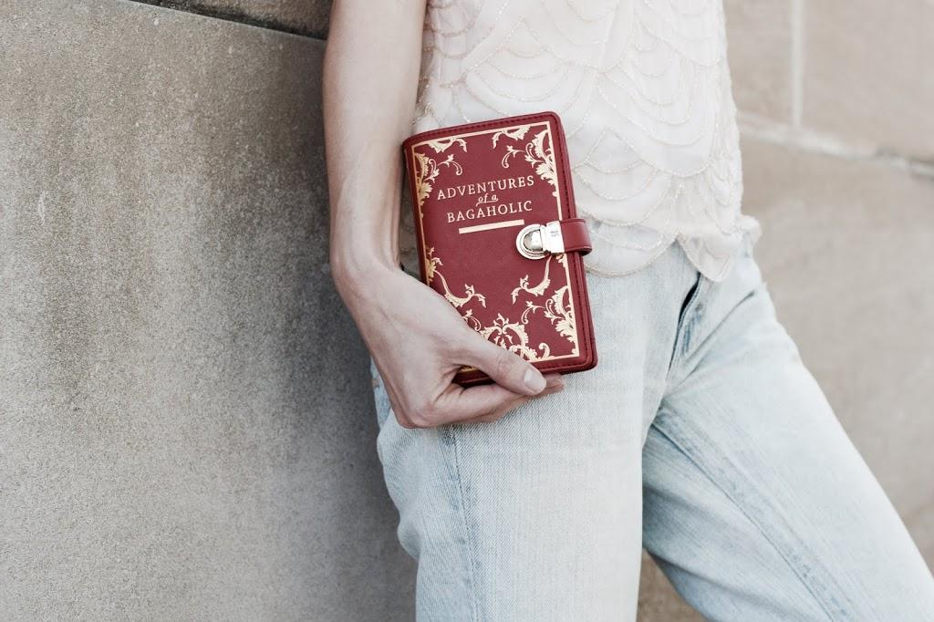 Book Shaped Wallet from Vendula London