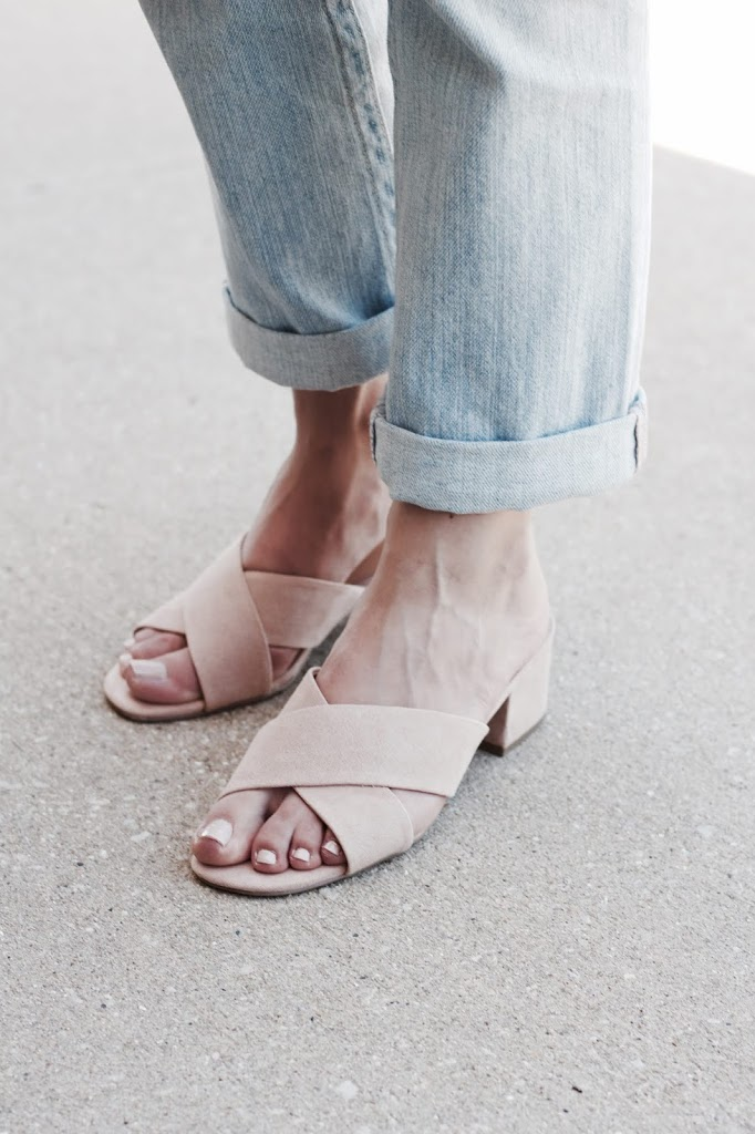 Dolce Vita Pink X Strap Sandals